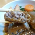 銀の匙 - 肉々しいお肉の食感とデミグラスが最高