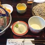 39719284 - 天丼セット(ランチ1100円)