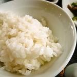 麺飯家龍門 - 定食@ご飯