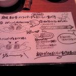 3972741 - 美味しいハンバーグの食べ方♪