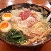 広州市場 - 料理写真:黒豚雲呑麺・塩(850円)