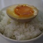 眞麺 穂高 - ライス(100円)