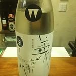 立ち呑み食堂 むしかり - 【義左衛門】三重県伊賀のお酒。スッキリ、クリアな辛口♪