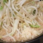 大虎 - ラーメン+野菜ニンニク
