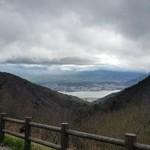 天下茶屋 - 御坂峠から見る河口湖、美しすぎる♪