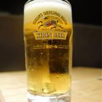 ひつまぶし名古屋備長 - 生ビール 600円