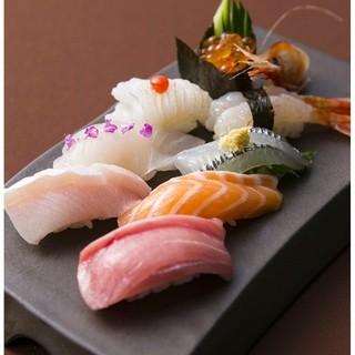 職人が握る本格寿司をリーズナブルに!