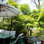cafe KO-BA - 店内風景(テラス席)