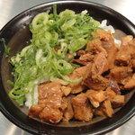 麺屋 九秀 - チャーシュー丼