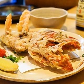 徳多和良 - 料理写真:2015.7 金目鯛かぶと揚げ(864円)