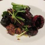 東京チャイニーズ 一凛 - ラム肉のクミン炒め、水菜と1
