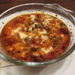 東京チャイニーズ 一凛 - 白い麻婆豆腐、ご飯と2