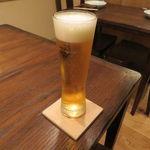 東京チャイニーズ 一凛 - ビール
