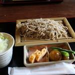 ふか沢 - ざる蕎麦 1000円