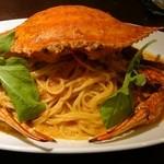 39733044 - 渡り蟹のトマトクリーム大盛