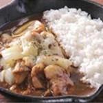野菜を食べるカレーcamp - 玉ネギとジャガイモの欧風チーズカレー