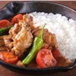 野菜を食べるカレーcamp - トマトと生姜のチキンカレー