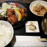 さつま古謝 - 鶏からあげ定食