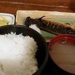 39740545 - サバ定食650円。