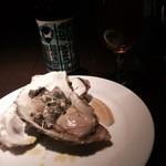 バー ディーアール - Brew Dog PUNK IPAと生牡蠣