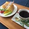 Yuukurabu - 料理写真:珈琲とシフォンケーキセット