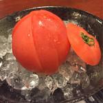 海鮮 漁師の台所 - 冷やしトマト