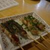 とり吉 - 料理写真:しそ巻き&ネギ盛り