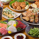 松山個室居酒屋 月の都 - 飲み放題付コース