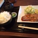 すえひろ亭 - トンテキ(日替わり定食)