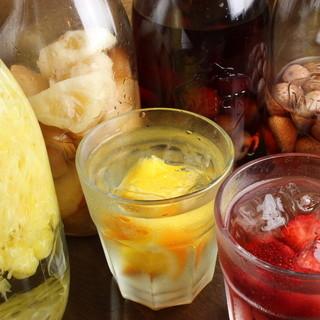 ♦)自家製フルーツ酒♡*