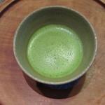 ばん茶茶屋 - 抹茶 420円(税込)