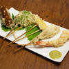 テンプラ ワバル - 料理写真:串テンプラ