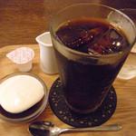カフェ ジータ - ランチのセット/アイスコーヒー