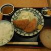 鉄板焼き・お好み焼き・もんじゃ しょう吉 - 料理写真:マヨ玉ハムカツ ¥650-