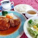 三月うさぎ - 料理写真:ポークステーキ ランチセット