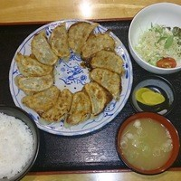 とりゆき - 餃子定食12個950円