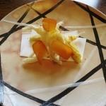 39754887 - カラスミとヤングコーンと白魚の天ぷら