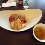 39755150 - 煙神丼(スープ付)1100円