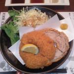 膳蔵 - 膳蔵(鹿児島市東千石町)バームカツ(単品)1100円
