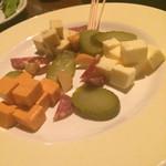 壱岐 - チーズ盛り