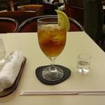 喫茶室ルノアール - はちみつジュレ&アイスティー:770円