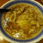 蘭苑菜館 - ニンニク大腸麺:900円