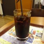 カフェ・ド・クリエ  - アイスコーヒー