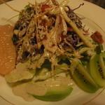 ナーガルジュナ - いろいろ野菜と無農薬ハーブドレッシングのサラダ