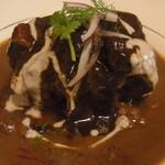 ナーガルジュナ - ムーガルワイン煮の牛テールカレー