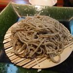 志蕎庵 江月 - 手挽き十割蕎麦の品野