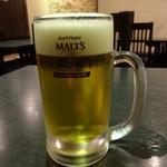 龍記 - 生ビール