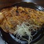 龍龍 - 牛肉の朴葉みそ焼:650円