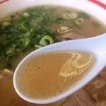 Musashiramen - ラーメンのスープ