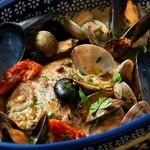 Oliva - 料理写真:本日のお魚一匹まるごとアクアパッツァ